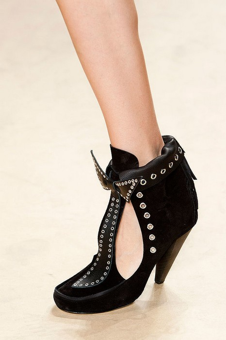 Summer Booties - Isabel Marant Spring 2014