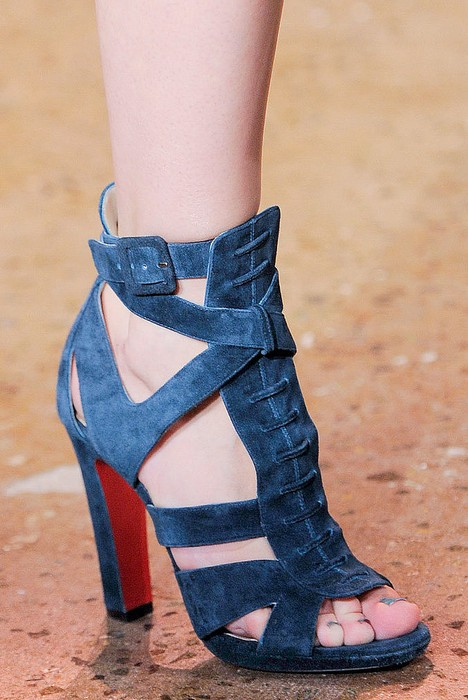 Summer Booties - Peter Som Spring 2014