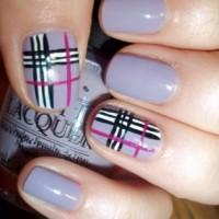 Tartan Nails