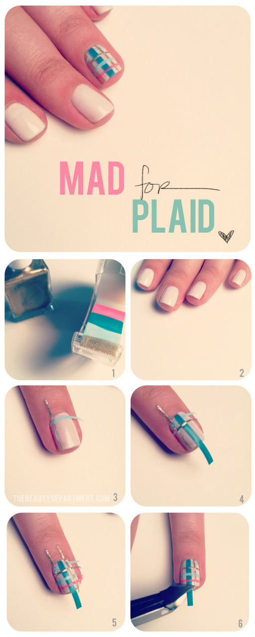 12 Latest Nail Tutorials for Beginners - Pretty Designs
