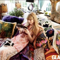 Taylor Swift's Latest Cover Image for Glamour March Issue