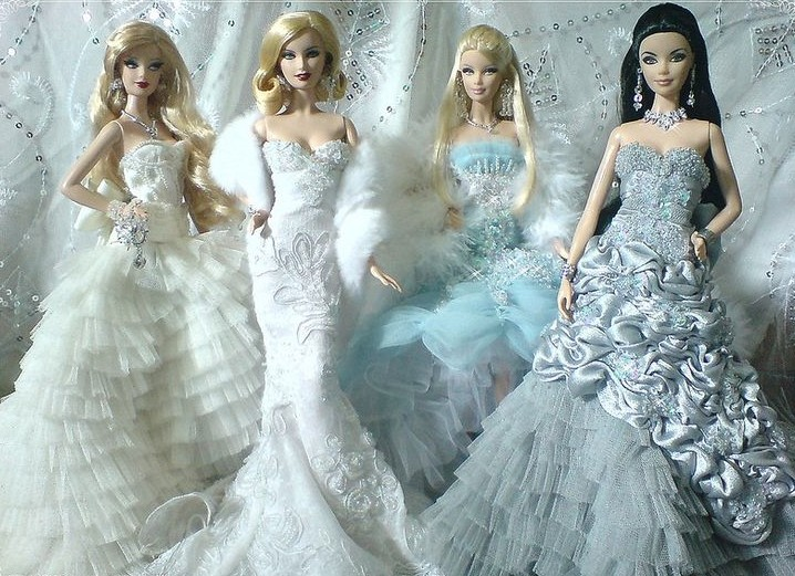 Fashionable And Adorable Barbie Inspired Dresses For Women