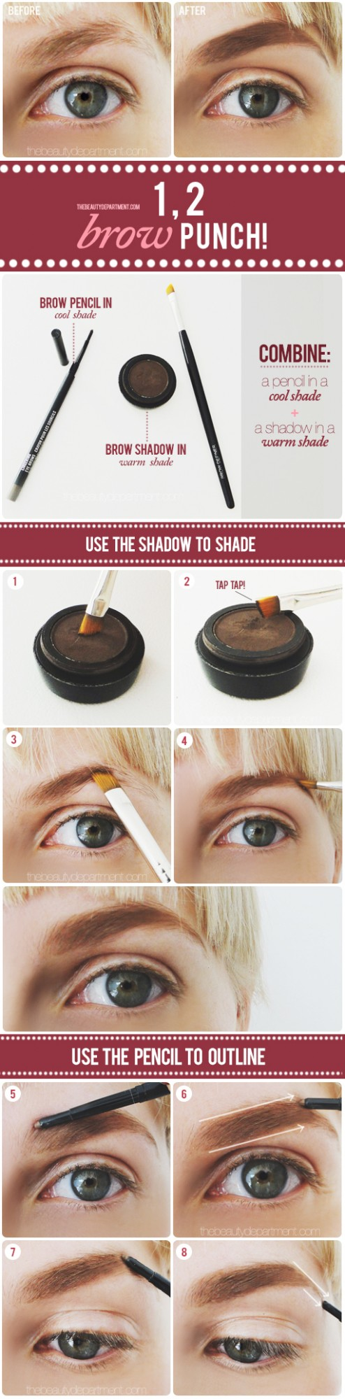 Useful Makeup Tutorials for Sophisticated Looks: Brown Punch