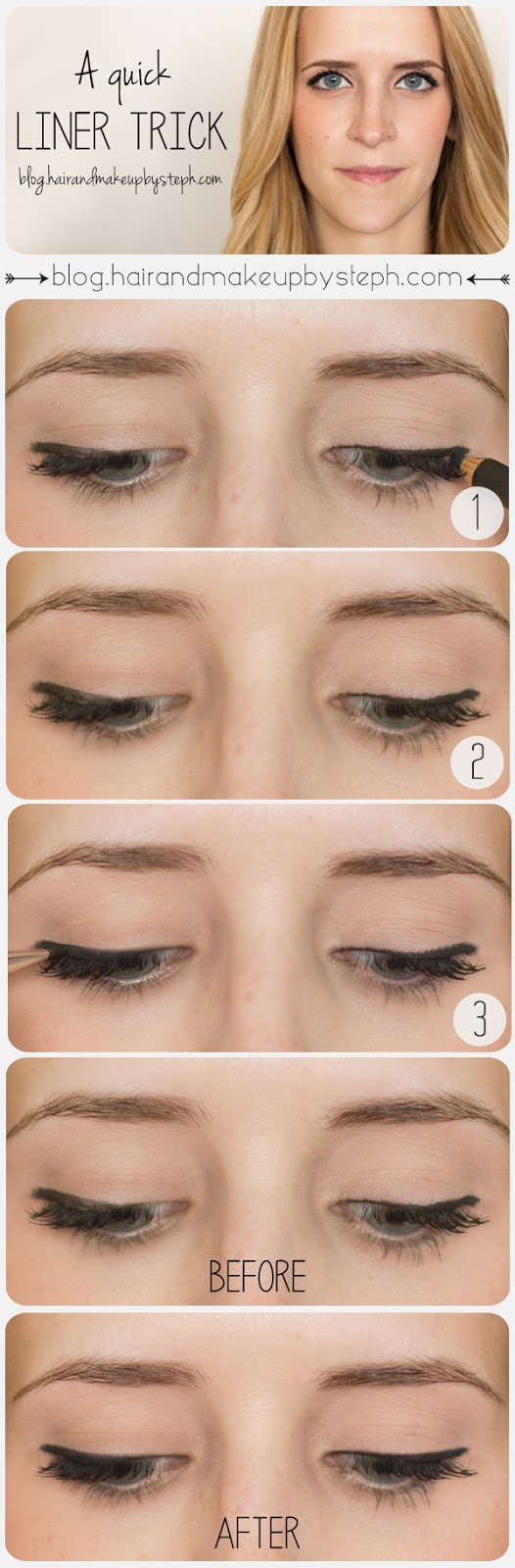Useful Makeup Tutorials for Sophisticated Looks: Liner Tricks