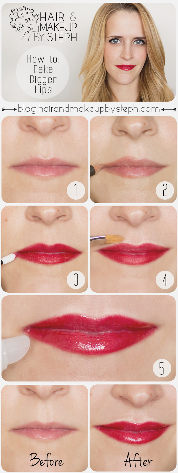 Useful Makeup Tutorials for Sophisticated Looks: Radiant Lip