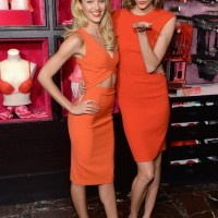 Victoria's Secret Models Show Us How to Rock the Color of the Season - Orange