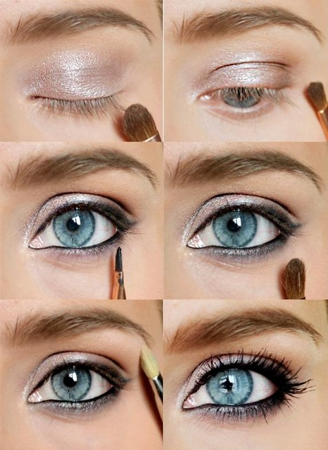 Pretty Makeup With The Eye Glitters 2052994: 18 Beautiful Eye Makeup Tutorials