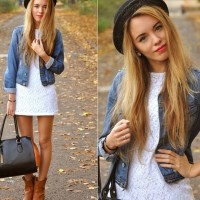 Denim Jackets| 18 Trendy Combinations Ideas for Spring 2014
