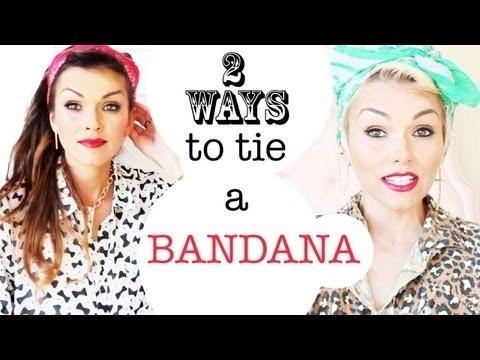 2 Ways to Tie a Bandana