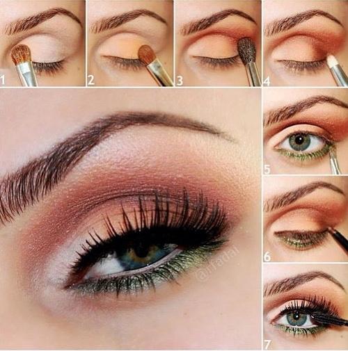 2014 Spring-Summer Makeup Trends: Versatile Coffee Eye Shadow