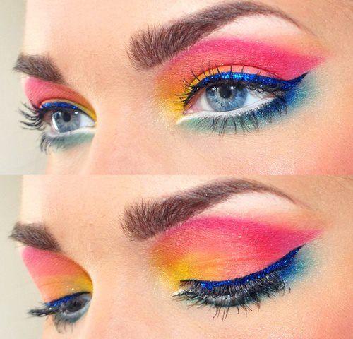 Hot! 2014 Spring-Summer Makeup Trends - Pretty Designs 2014 Eye Makeup Trends