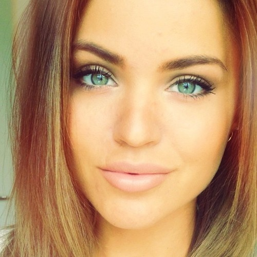 Hot! Makeup natural green  Spring  makeup Pretty Summer Trends Designs 2014  eyes for