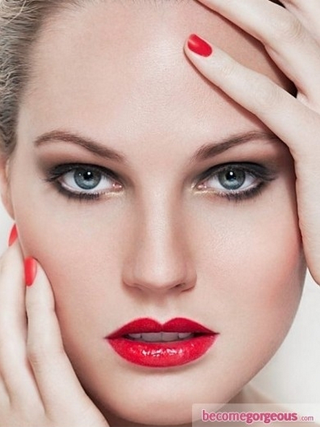 25 Amazing Makeup Ideas With Red Lipstick  Pretty Designs - Amazing Makeup Ideas