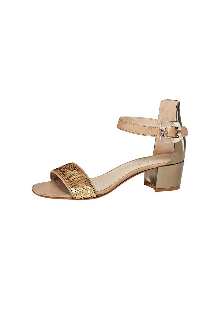AGL Metallic Low Heels