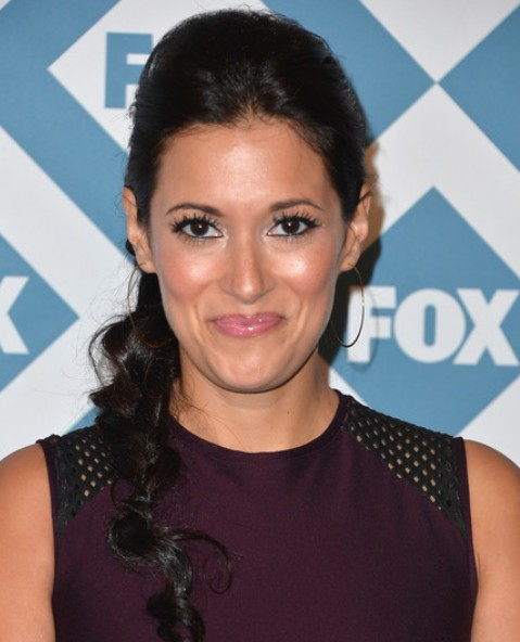 Angelique Cabral Long Braid without Bangs/Getty Images