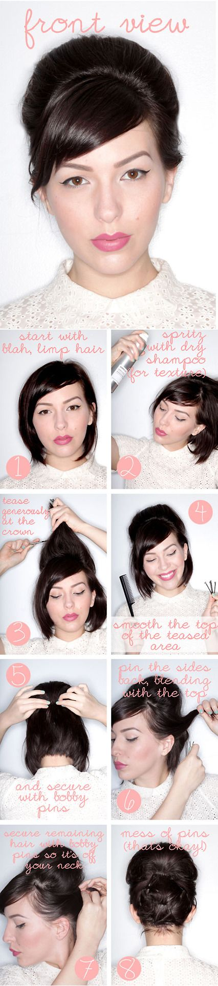 Beehive Tutorials You Must Love | Pretty Designs