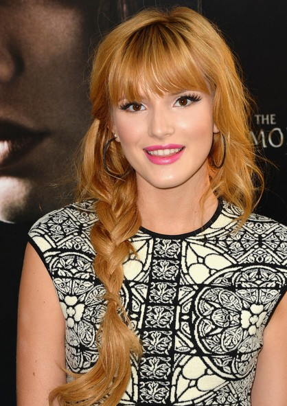Bella Thorne Side Braid/Getty Images