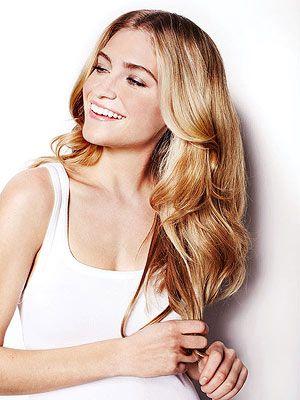 Blonde Blowout Hair