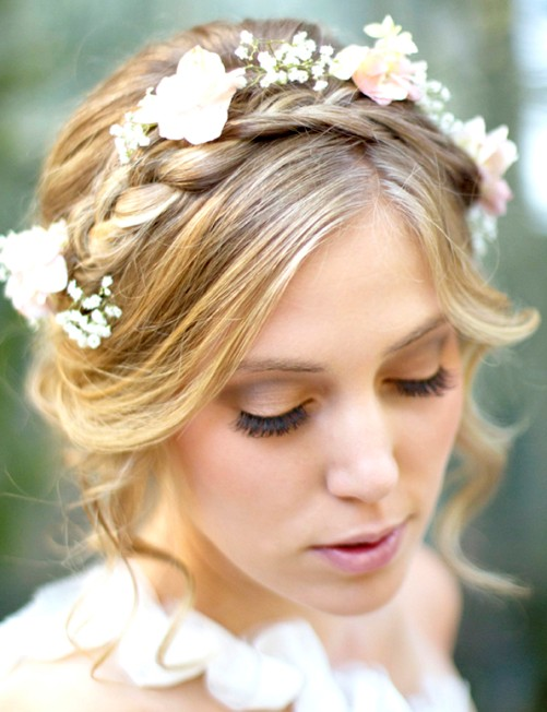 14 Braided Hairstyles Stylish Braids With Flowers