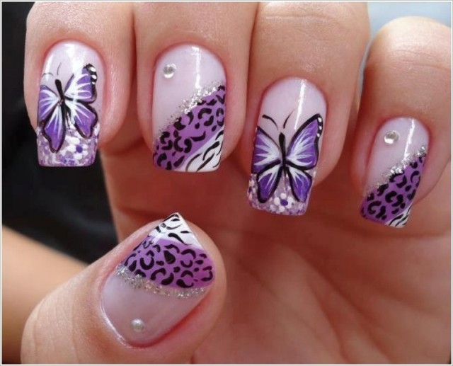Butterfly and Animal Print