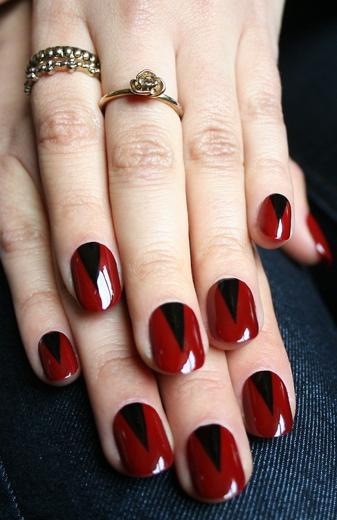 17 Sexy Red Nail Designs for the Season  Pretty Designs