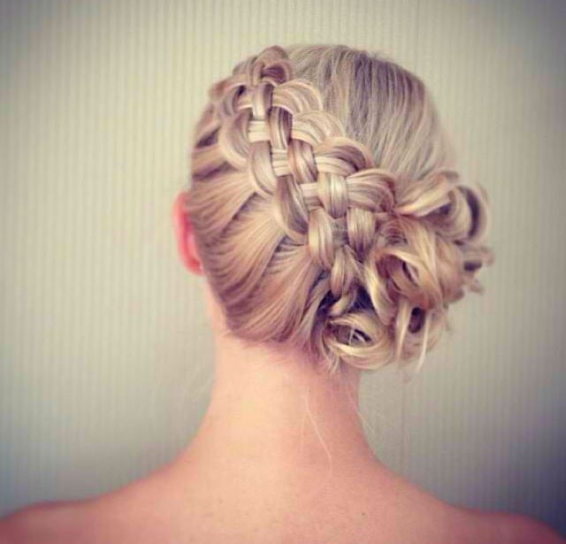 How To Do A Basket Weave Updo : Pretty double dutch diagonal braided designs for girls