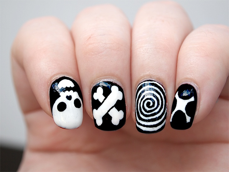 20 Skull Nail Designs To Rock The Season Pretty Designs