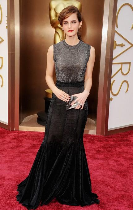 Emma Watson at the 2014 Oscars