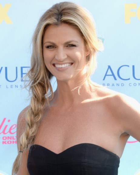 Erin Andrews Side Braid/Getty Images