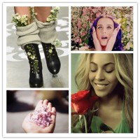 Fashionable Spring Looks with Flowers
