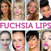 Flattering Fuchsia Lips for 2014