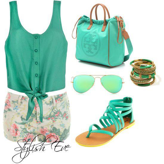 15 Fresh Spring Combinations in Popular Mint