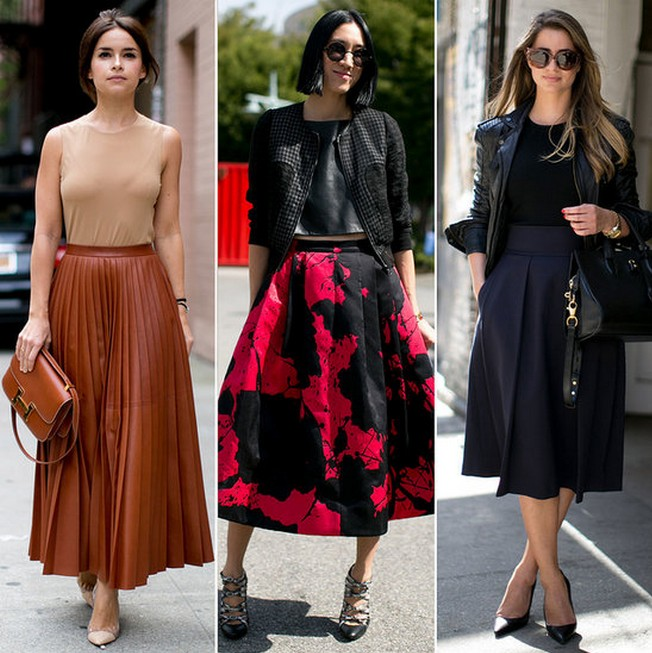 Pretty Full Skirts For The Newest Fashion Week Star