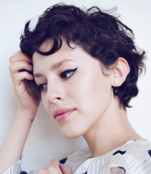 Funny Short Curly Hair