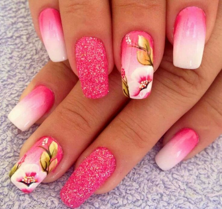 Gorgeous Pink Nails