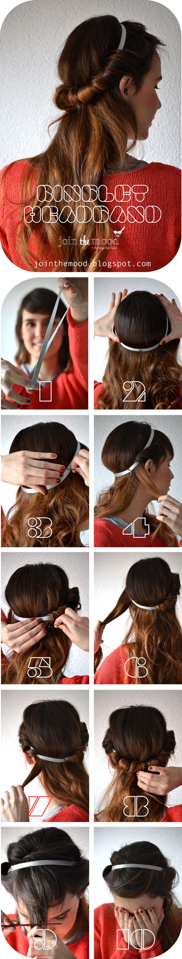 Hairstyle with Ringlet Headband