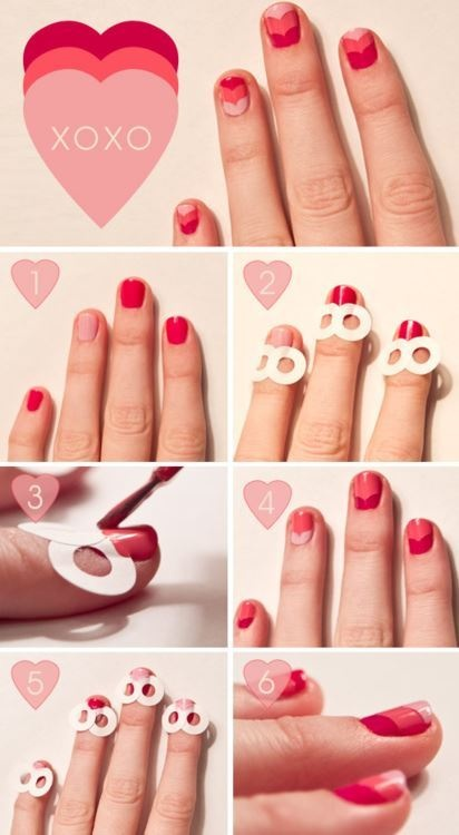 Heart Top Nails