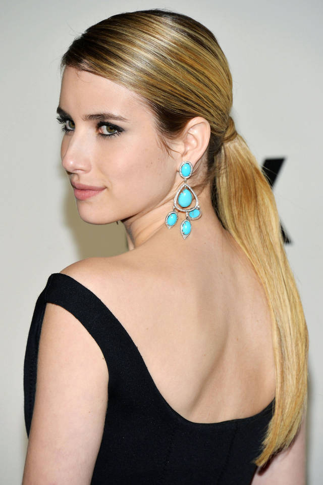 Hit the Trend with Ponytails: Low Ponytail