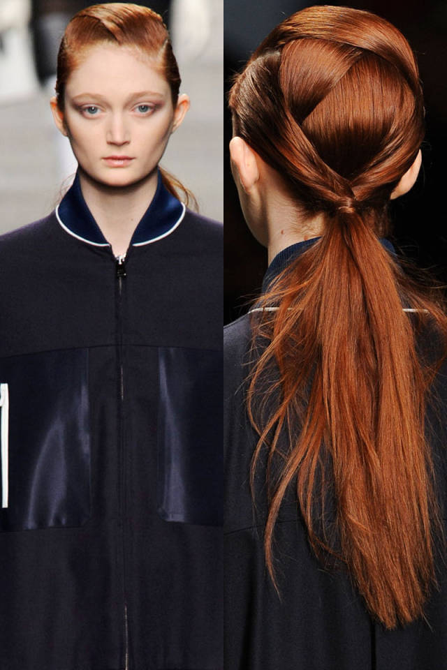 Hit the Trend with Ponytails: Into-Pieces Ponytail