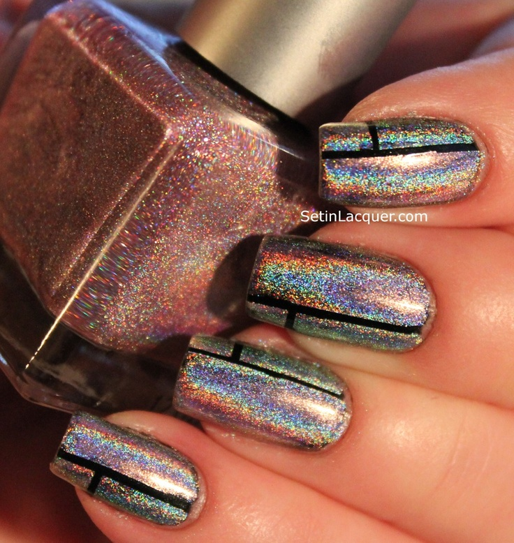 20 Shiny Metallic Nail Designs For Girls To Shine