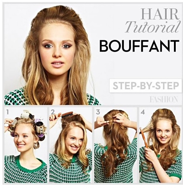 how to create a bouffant