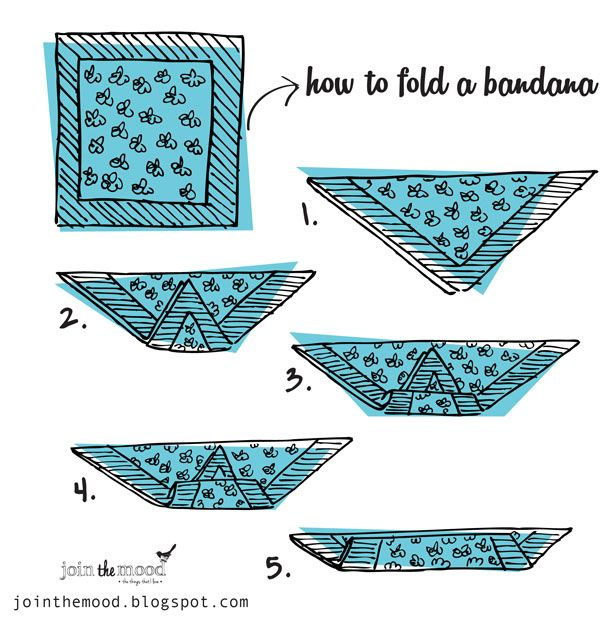 folding hair style how to create a hairstyle with a bandana pretty designs 6527