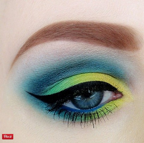 Iced Color Makeup