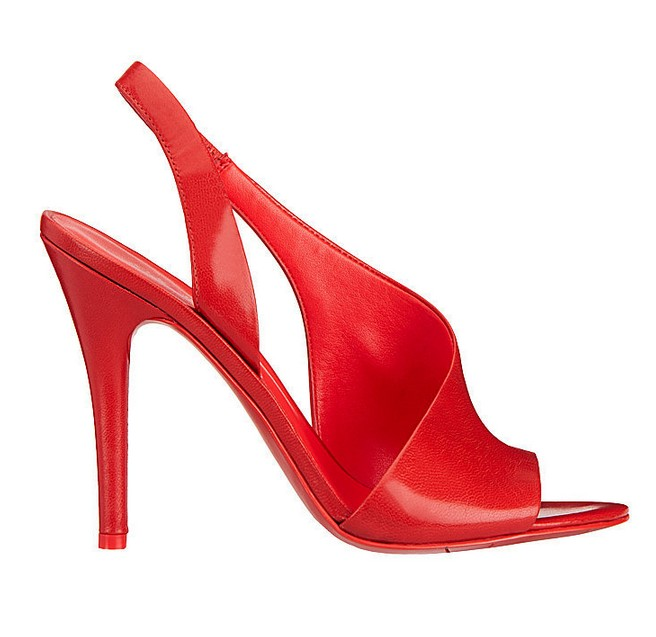 Red Leather Sandal ($89)