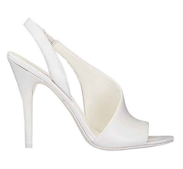 White Leather Sandal ($89)