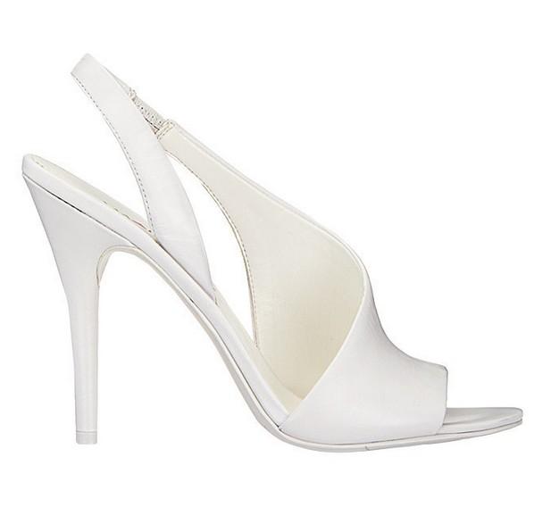 White Leather Sandal ($89)