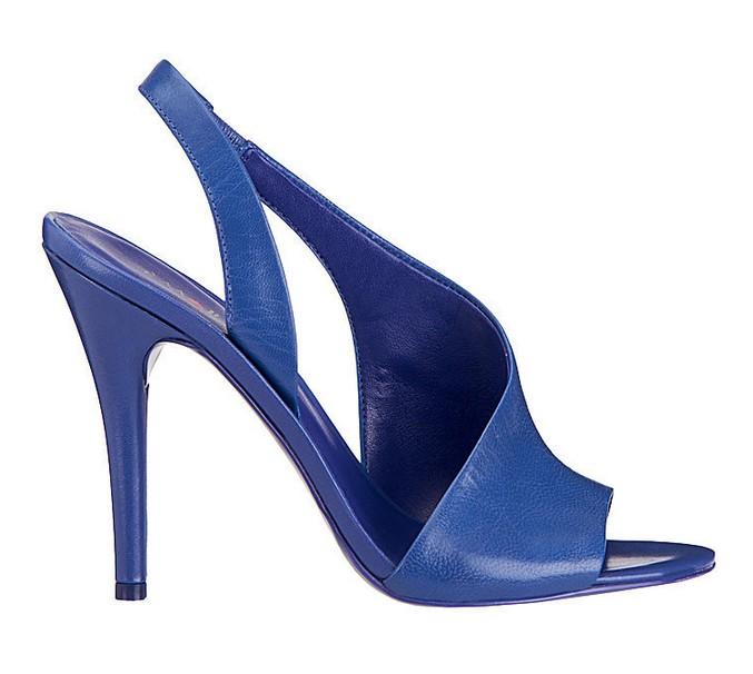 Blue Leather Sandal ($89)