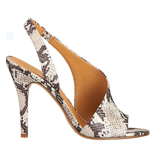 Faux Snakeskin Sandal ($89)