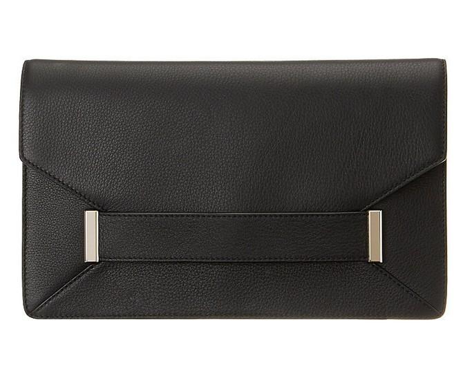 Black Pebbled Leather ($129)