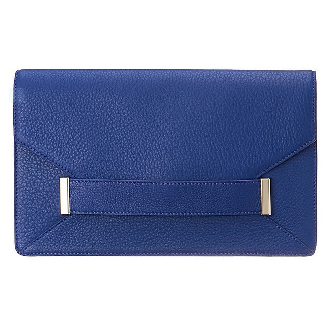Blue Pebbled Leather ($129)